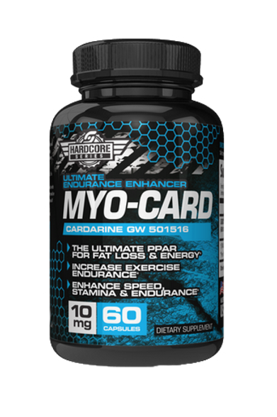 Hardcore Series - MYO-CARD (60 count)