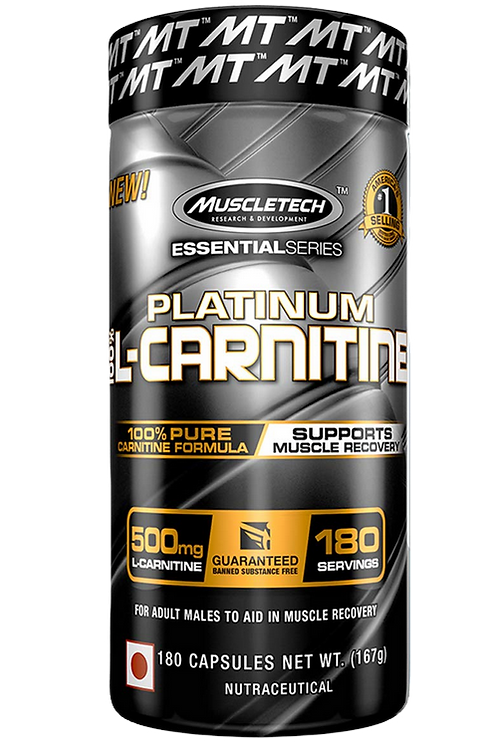 MuscleTech - L-Carnitine (180 Caps)