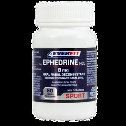 4EverFit Ephedrine 8mg (50ct)