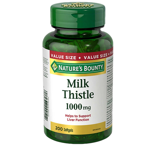Nature's Bounty Milk Thistle (200 caps)