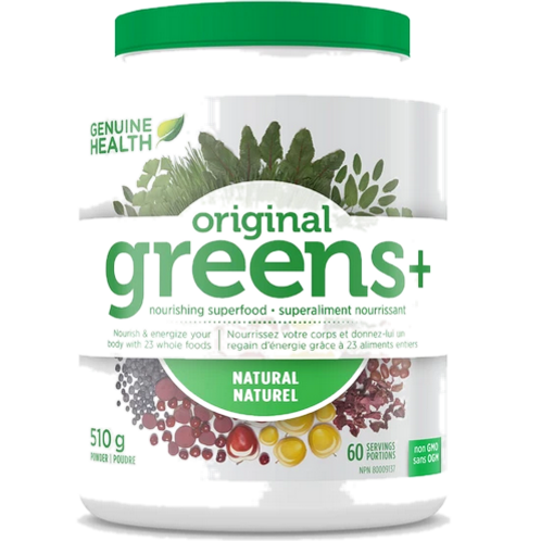 Genuine Health - Original Greens+ (510g) Natural