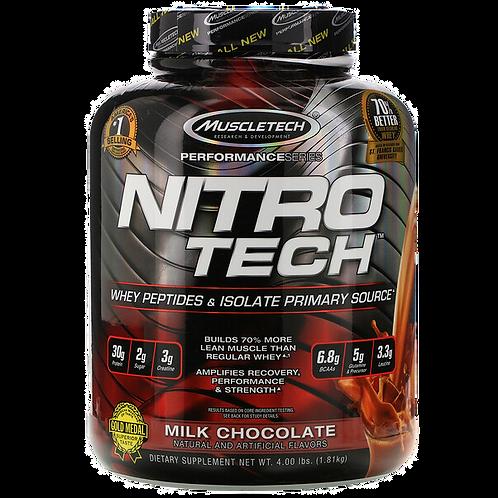 MuscleTech Nitro Tech Whey Isolate (4 lbs)