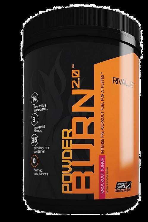 Rivalus - Powder Burn 2.0 (35 servings)