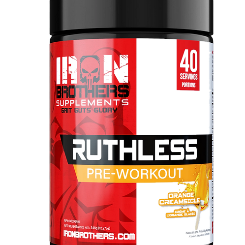 Iron Brothers - Ruthless Preworkout (40 servings)