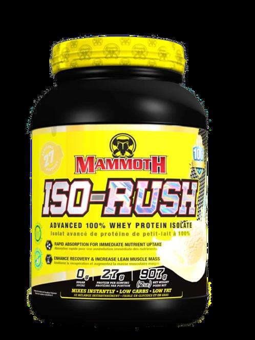Mammoth Iso-Rush 2lbs