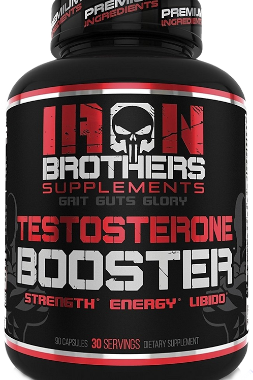 Iron brothers testosterone booster (30 servings)