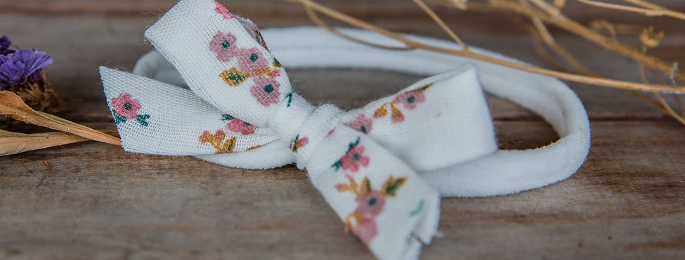 PEARL stretch bow headband