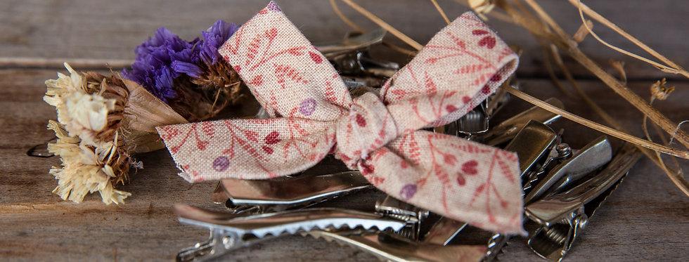 BOHO FLOR bow clip