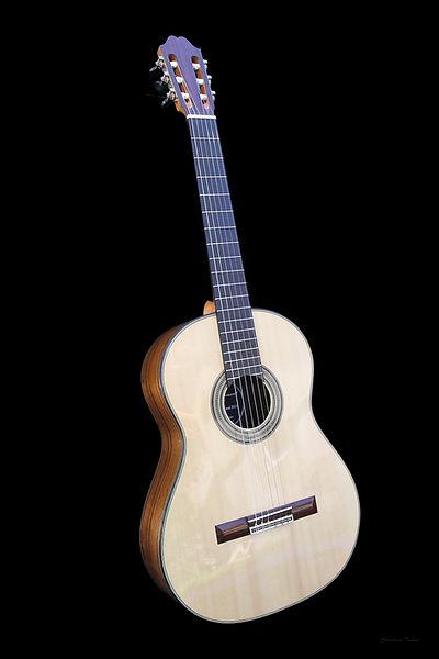 Guitare Robert Bouchet - Amélie Bouvret