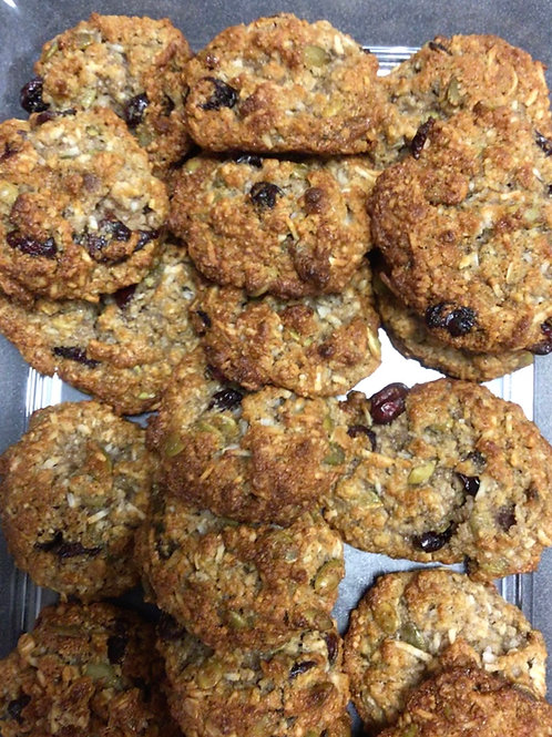 Fresh Baked Coconut Cowboy Cookies (12)