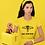 Thumbnail: Don't Tread on Me Uterus Shirt - Feminist Uterus Snake Tee