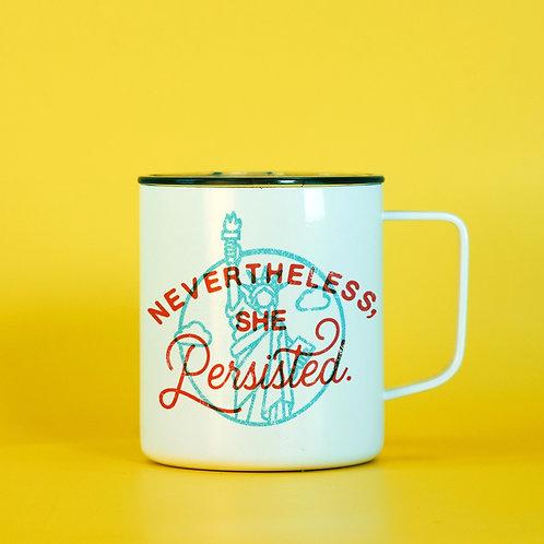 Nevertheless She Persisted Feminist Coffee Mug - Feminist Travel Mug