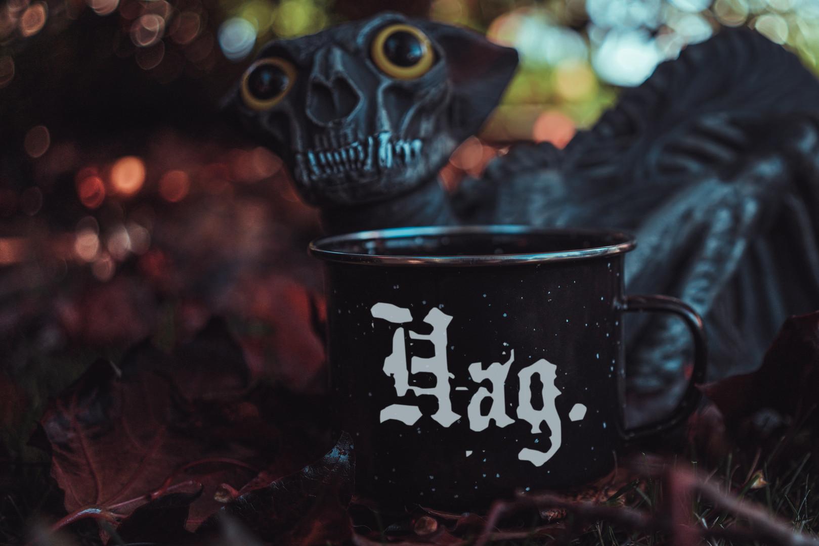 Hag - Funny Feminist Camp Mug