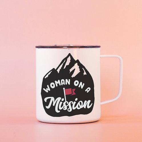 Woman on a Mission: a Feminist Badass Travel Mug