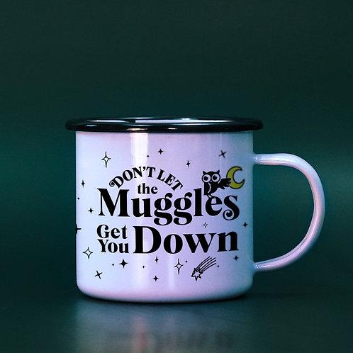 Harry Potter Enamel Mug - Don't Let the Muggles Get You Down Mug