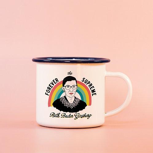 Ruth Bader Ginsburg Mug - RBG Memorial Coffee Cup