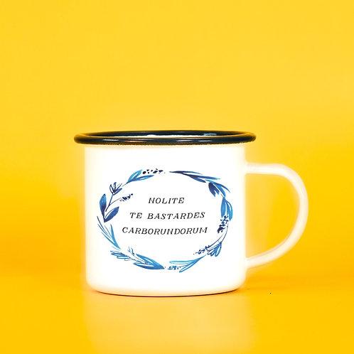 Nolite Te Bastardes Carborundorum - Handmaids Tale Feminist Camping Mug