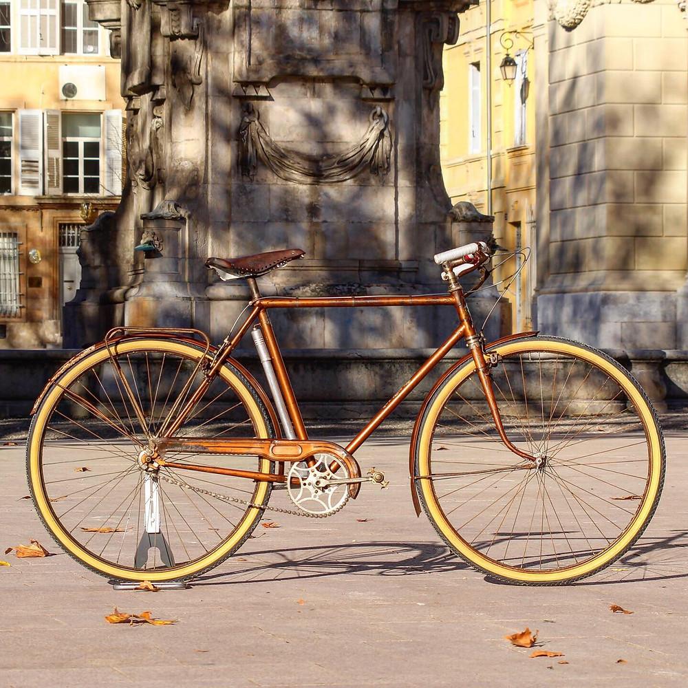 vélo ancien roselys 1933 vélo vintage français