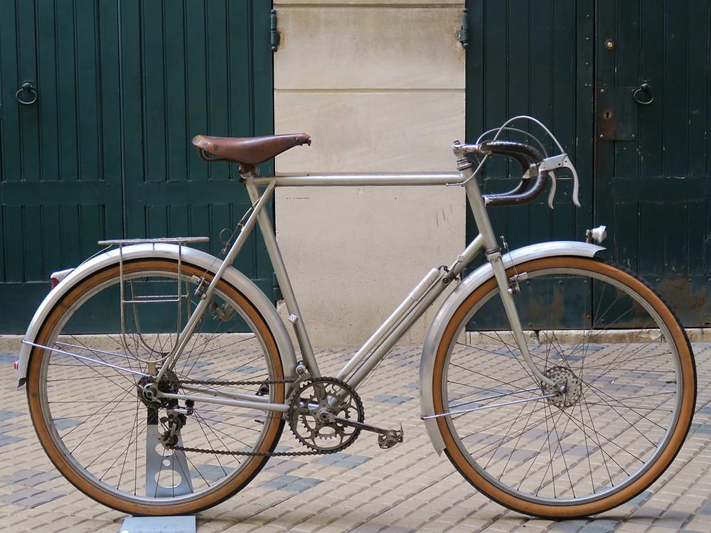 vélo 650B artisanal A.rémy rene herse alex singer routens