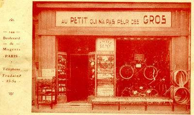 devanture boutique vélo vintage