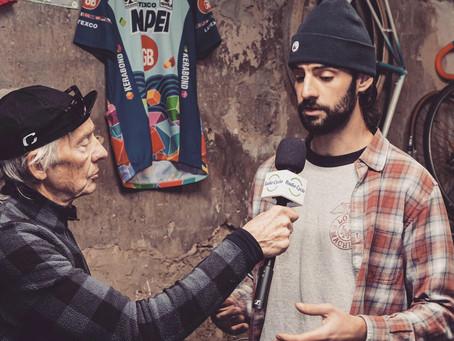 Interview à l'atelier pour radio cyclo