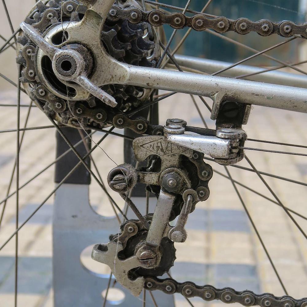 derailleur velo vintage Nivex velo vintage A REMY année 1940 vintage french bicycle