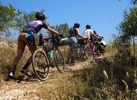 CYCLO-CAMPING IS NOT A CRIME !