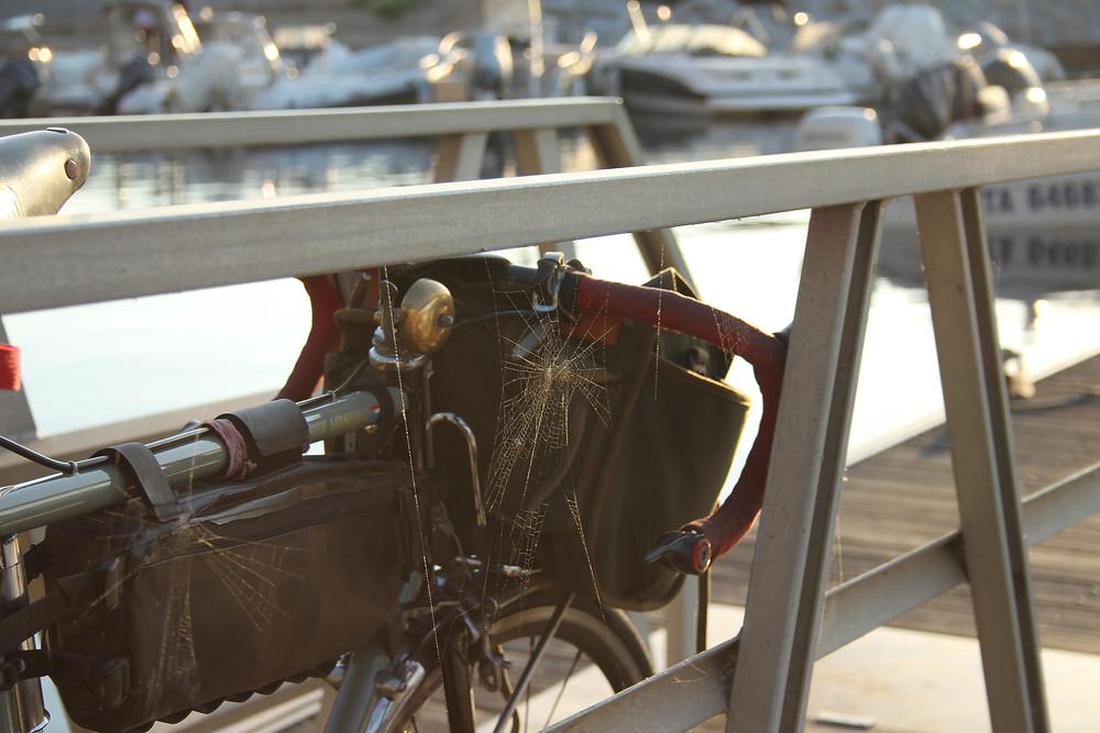 velo de cyclotourisme vintage DYNAMO CYCLE REPAIRS aix en provence