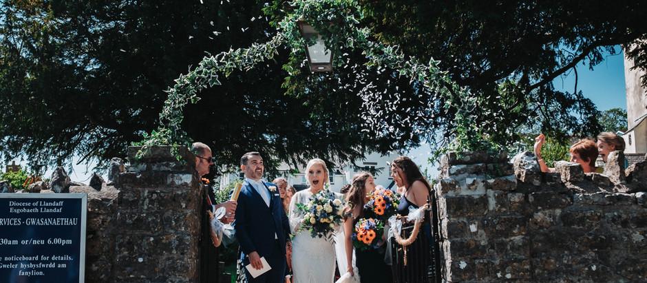 COLWINSTON CHURCH WEDDING - VICTORIA & RHODRI (ROUND 2)