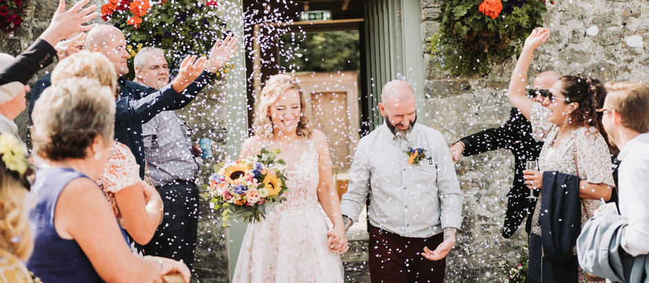Wedding at Cobbles Kitchen - ogmore-by-Sea