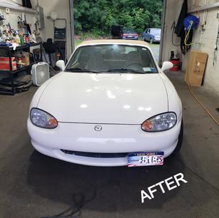 90's Mazda 2-Step Paint Correction w/ Sealant