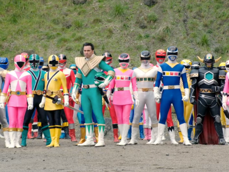 Media Musing Counter Factuals: Power Rangers and the Eighties