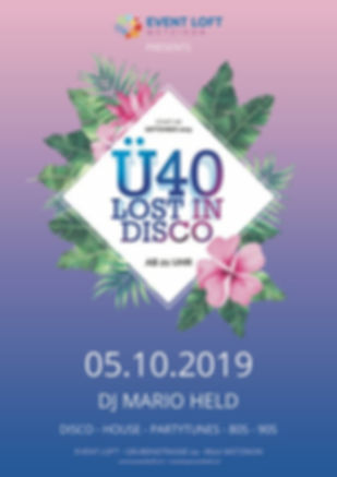 Ü40 Lost in Disco