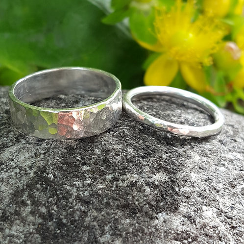 Silver ring making - Alcester