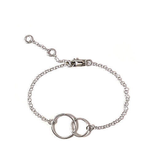 Eternity you and me bracelet
