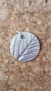 Silver clay leaf pendant.jpg