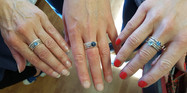 Trio of stacking rings