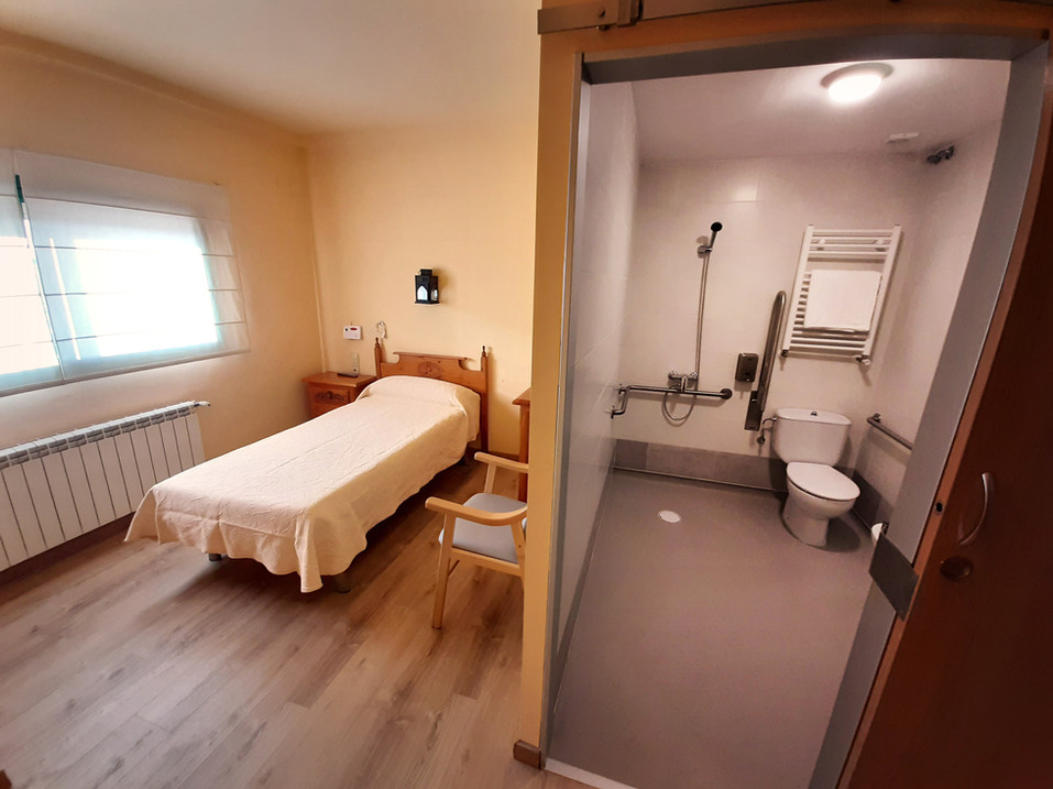 Habitación individual con baño