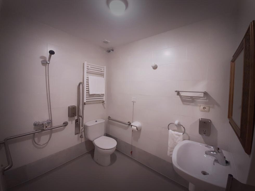 Todas nuestras habitaciones tienen baño