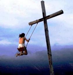 Kreuz, Schaukel