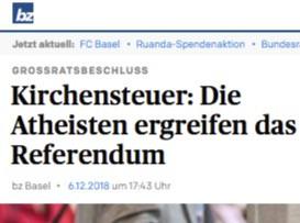 Basler Referendum in den Medien