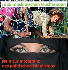 2016.03.12. Ja Flüchtende, nein Islamism
