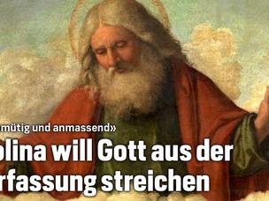 Endlich: SP-Nationalrat will Gott aus der Verfassung streichen.