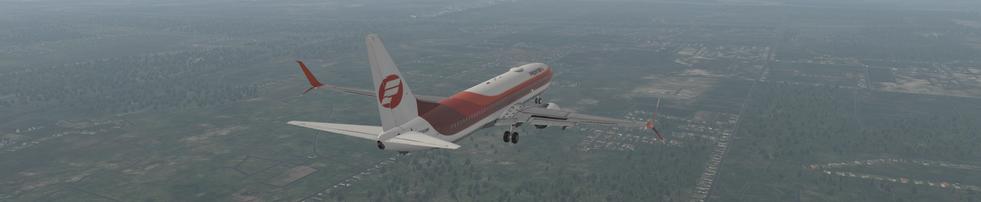 FRONTIER AIRLINES ZIBO 737 LANDING AT KMEM