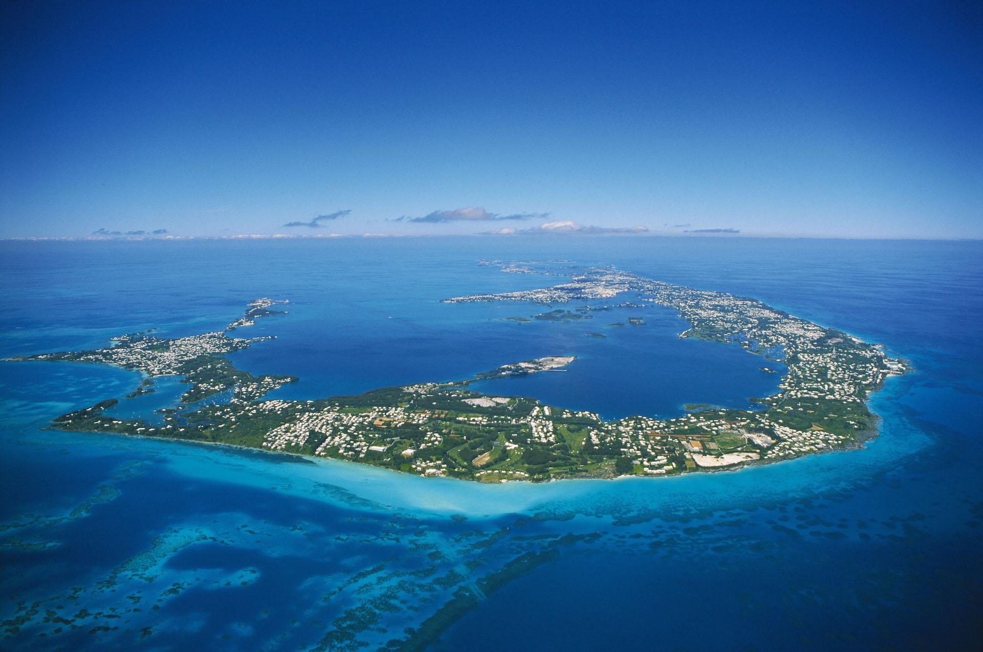 Bermuda-aerial-shot