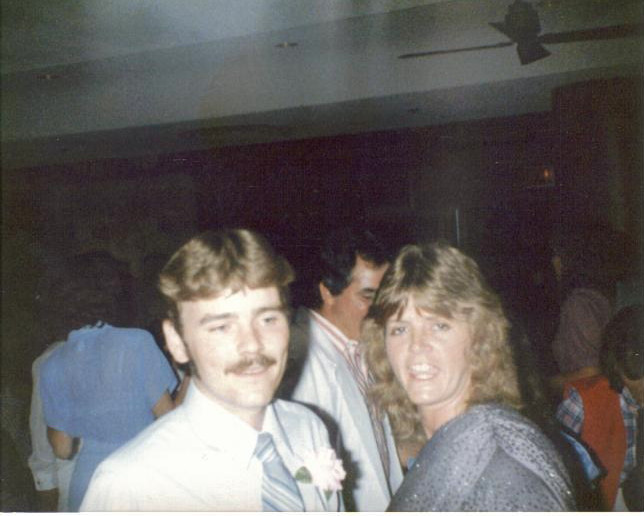 Tommy Lynn Sells attending his brother's wedding in St. Louis June 14, 1986, three years after the murder of Carla Tate.