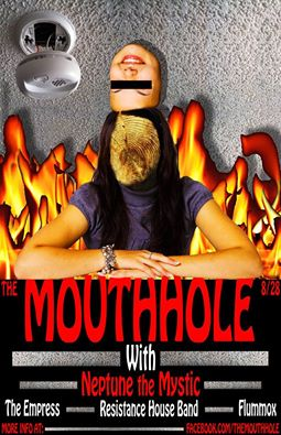 Mouthhole show flyer