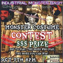 Industrial Monster Bash show flyer
