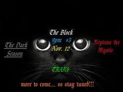 Goth/Industrial Night show flyer