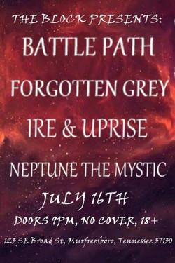 Battle Path show flyer